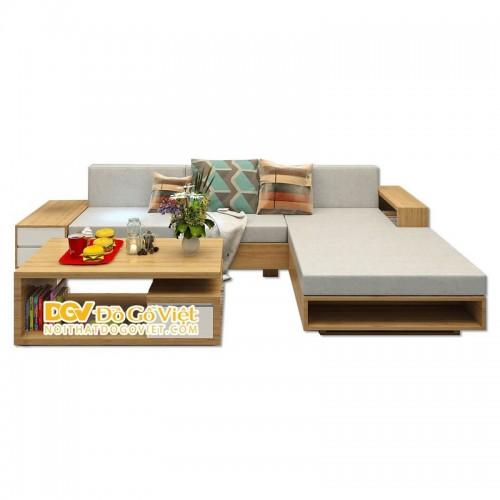 Bàn Ghế Sofa Gỗ Phòng Khách Hiện Đại Đẹp Giá Rẻ Giảm Giá 20%