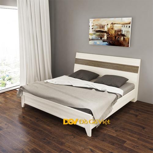 Giường Ngủ Màu Kem Nâu MFC Chống Trầy Giảm 20% và Quà Tặng