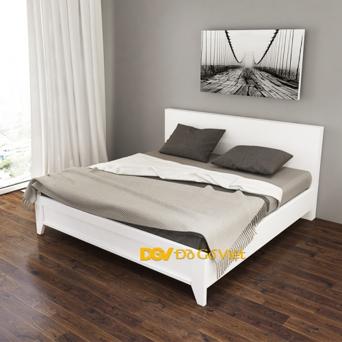 Giường Ngủ Màu Trắng Hiện Đại Đẹp Giá Rẻ Giảm Giá 20% + Quà